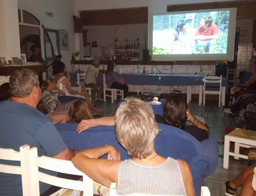 Screening at Villa Konitopoulos